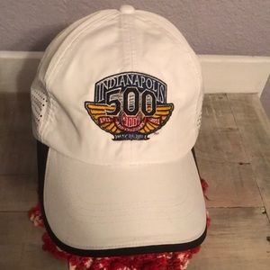 Cool Nike Indy 500 White Dr-FIt Hat